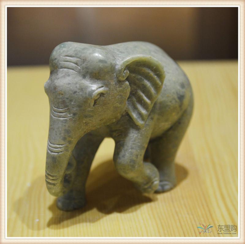 柬埔寨 手工肥皂石雕像神摆件小号 工艺品神像摆件 0203661图片四
