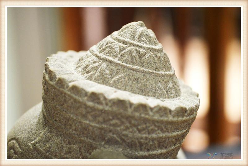 柬埔寨 砂岩雕智慧象神 0203654图片六