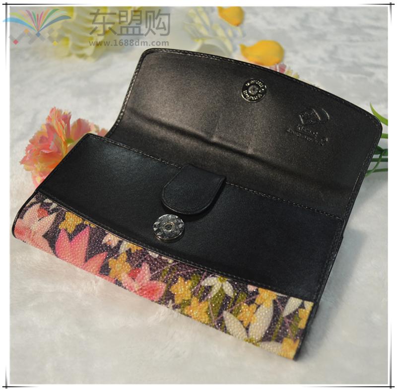 泰国 钱包珍珠鱼皮钱包(整皮) 0207486图片五