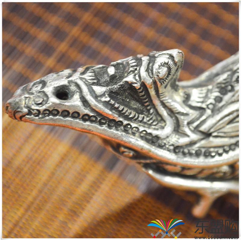 柬埔寨 银质雕花锅铲 0202284图片六