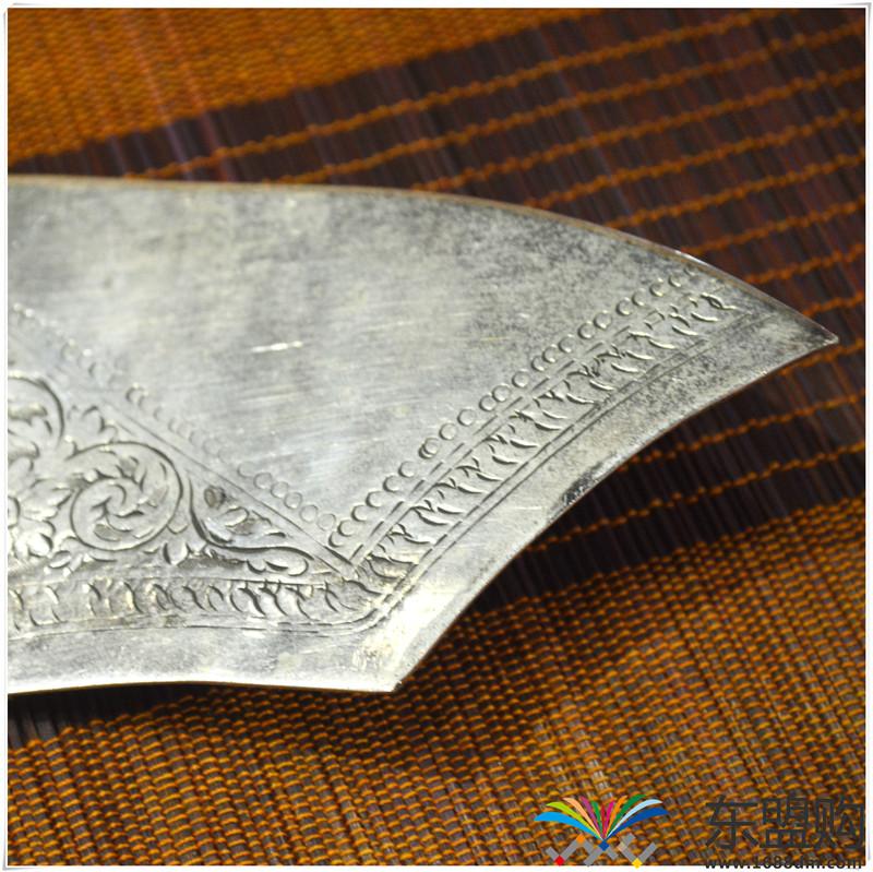 柬埔寨 银质雕花锅铲 0202284图片三