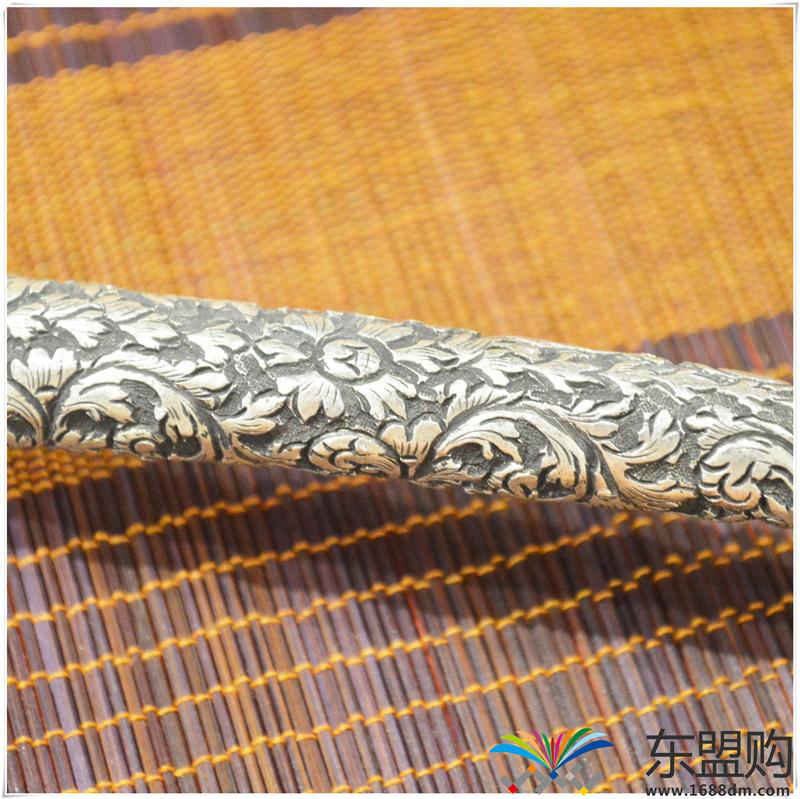 柬埔寨 银质雕花锅铲 0202284图片五