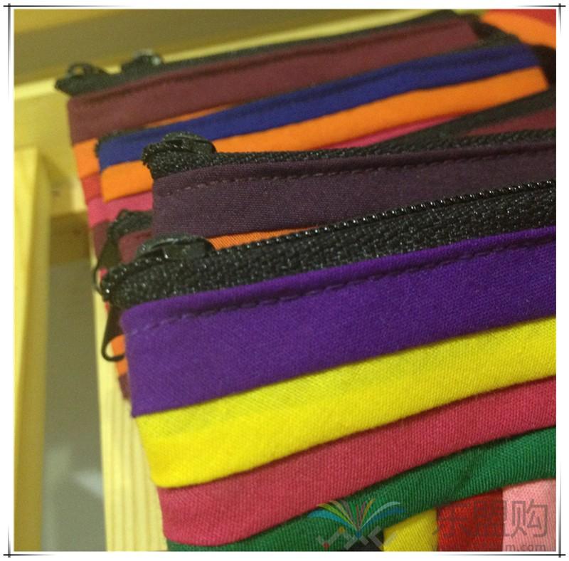 柬埔寨 七月彩条格零钱小包 0201730图片十五