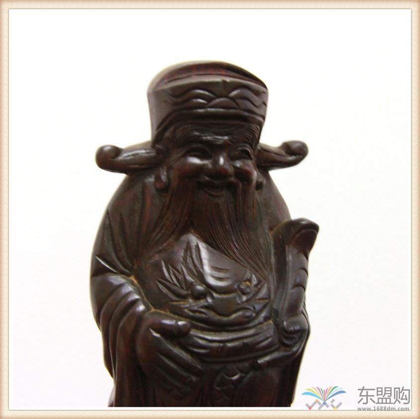 老挝 酸枝木雕福禄寿三件套 0202804图片十一