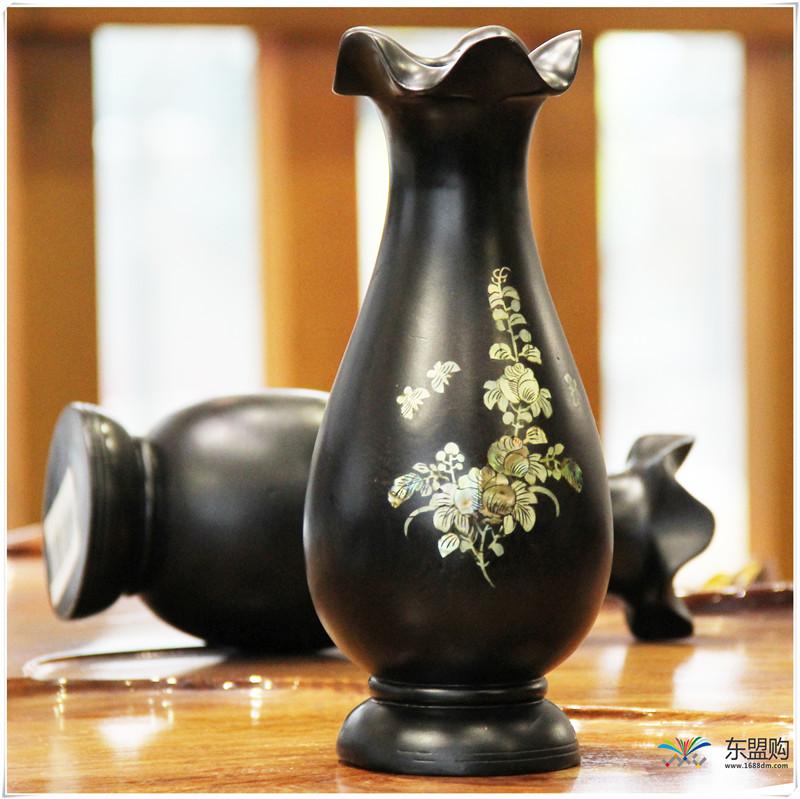 老挝 乌木花瓶 0202768图片五