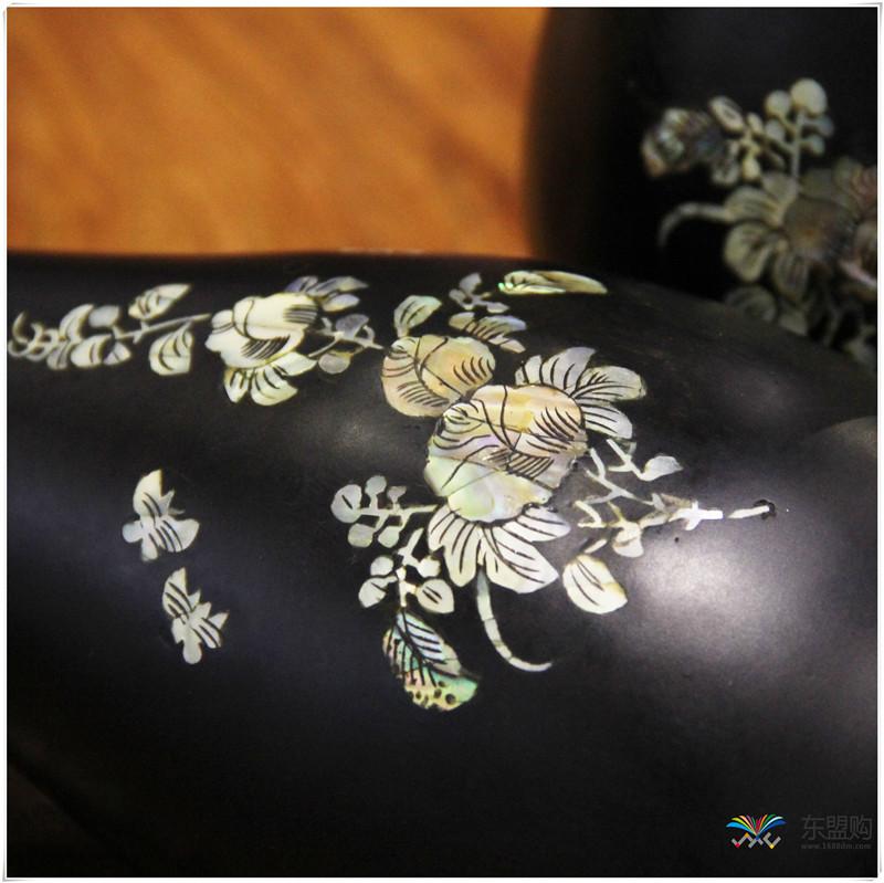 老挝 乌木花瓶 0202768图片十一