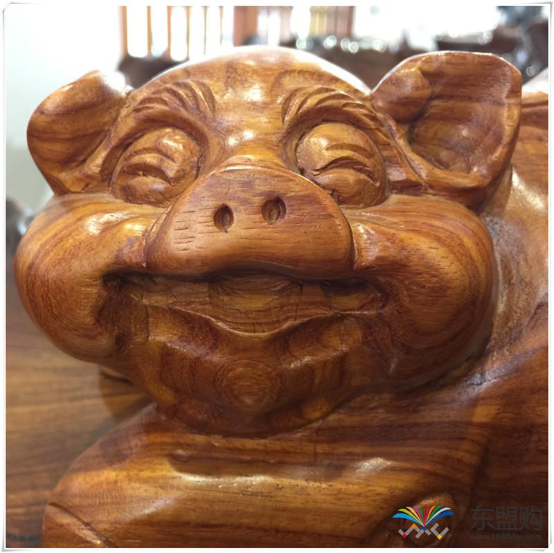 老挝 草花梨招财猪 0206831图片十一
