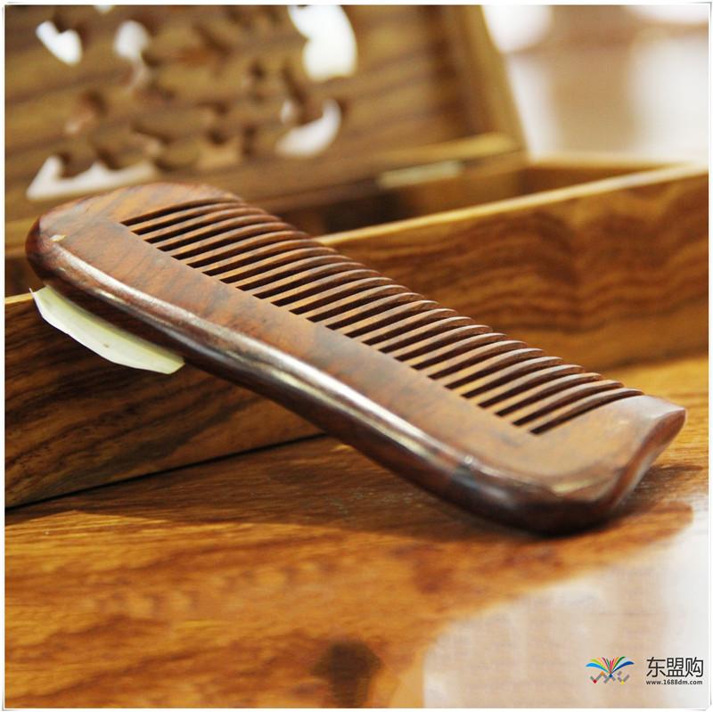 老挝 酸枝梳子 0203202图片四