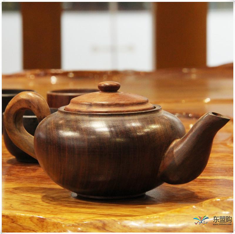 老挝 酸枝茶壶6件套(小)0207459图片二