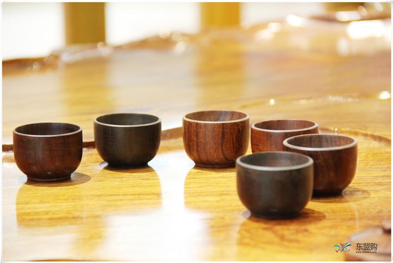 老挝 酸枝茶壶6件套(小)0207459图片六