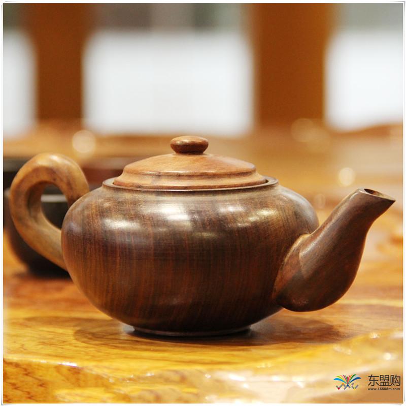 老挝 酸枝茶壶6件套(小)0207459图片三