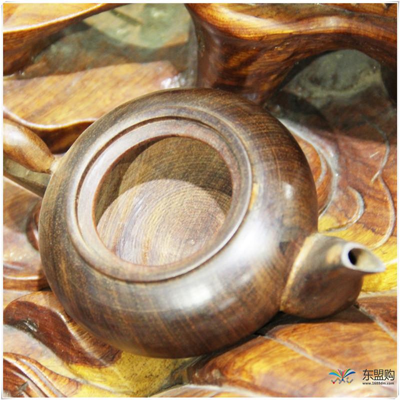 老挝 酸枝茶壶6件套(小)0207459图片十