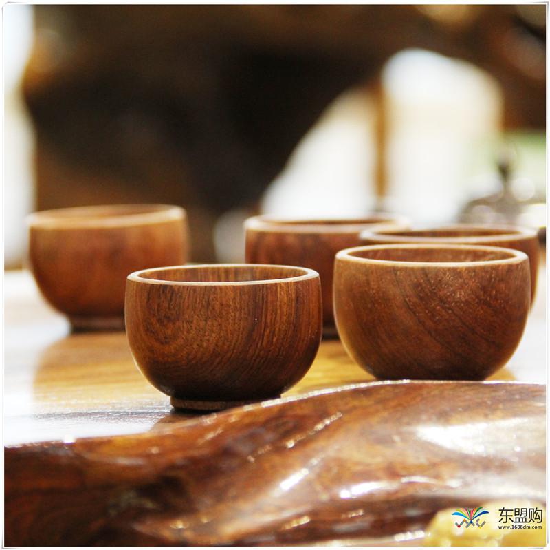 老挝 草花梨茶壶摆件 0207166图片六