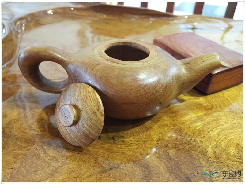 老挝 黄花梨茶壶茶具精品工艺品收藏把件家具 0200277图片二