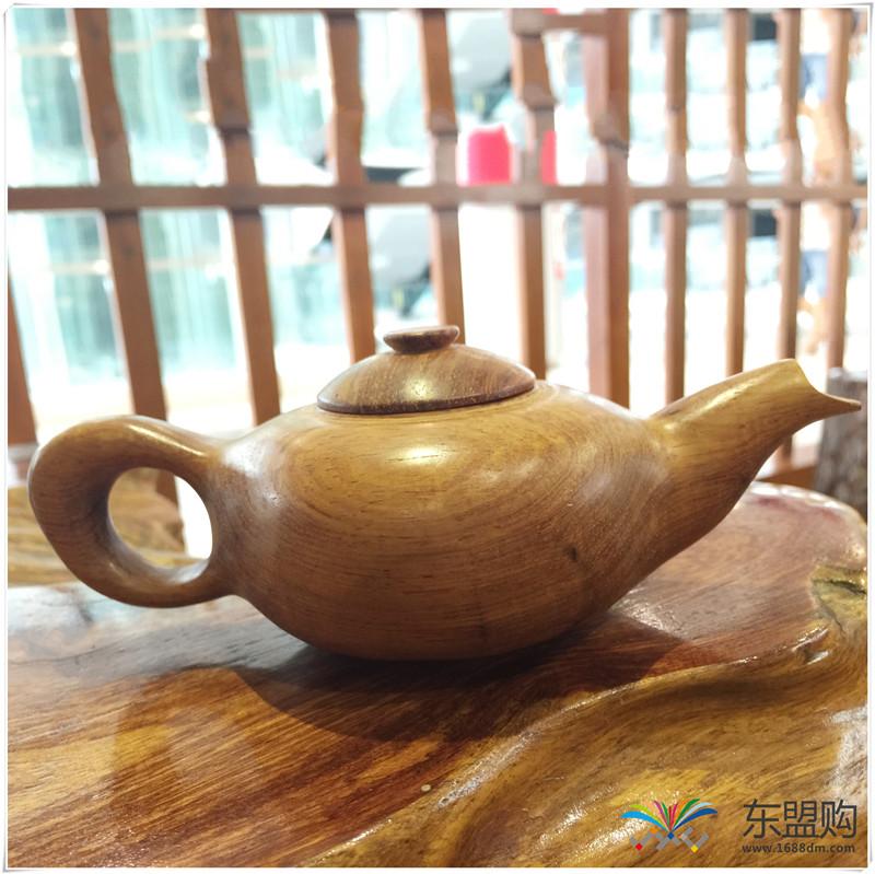 老挝 黄花梨茶壶茶具精品工艺品收藏把件家具 0200277图片九