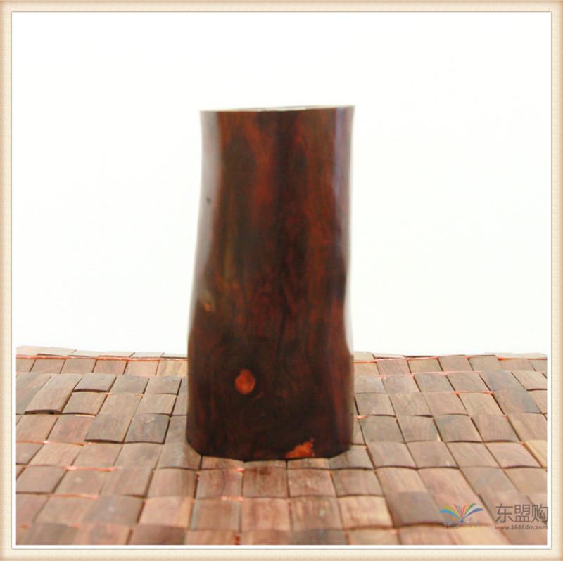 老挝 红酸枝木笔筒木罐 0202966图片四
