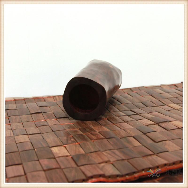 老挝 红酸枝木笔筒木罐 0202966图片六