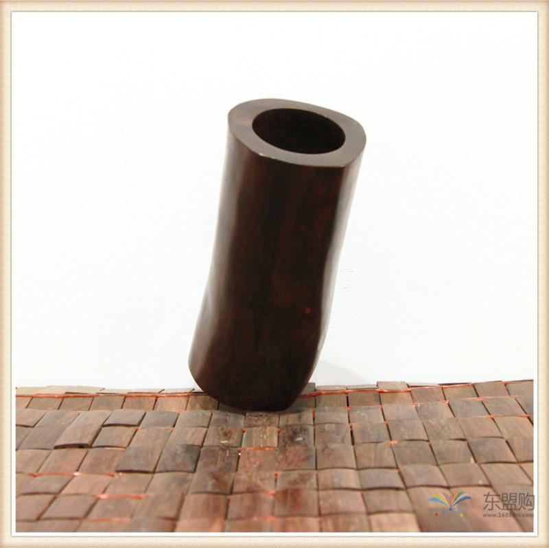 老挝 红酸枝木笔筒木罐 0202966图片八