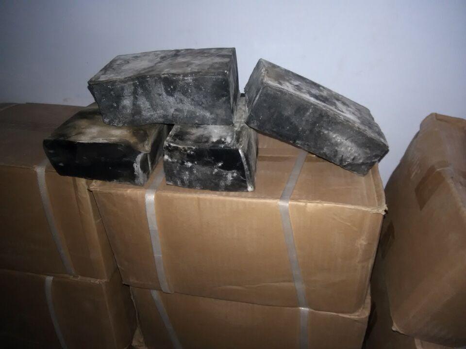 土工膜工程专用胶黑色块状KS热熔胶图片四