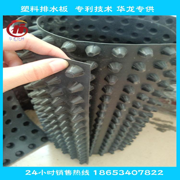 750克凸高0.8cm塑料排水板生产厂家图片一