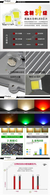 广州厂家LED工矿灯 500W 车间仓库LED灯具图片二