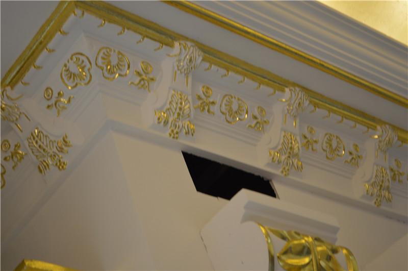 石膏制品 顶角线   品牌/生产商:   欧意石膏制品   款式:图片高清图片