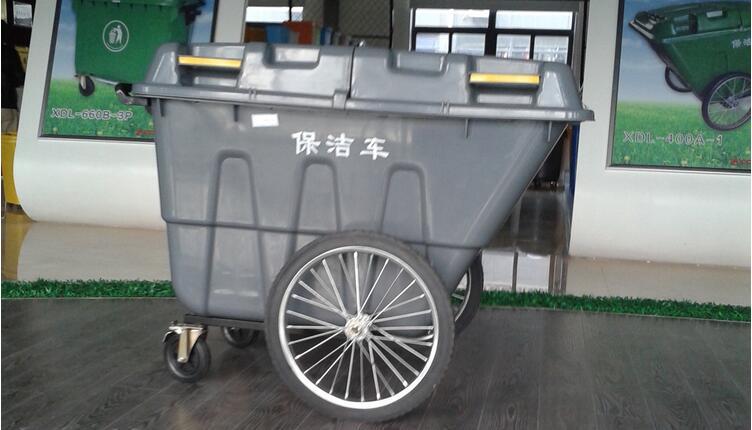 400升手推垃圾车图片一