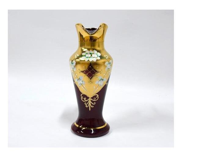 土耳其 尊贵漆金琉璃水杯套组图片五