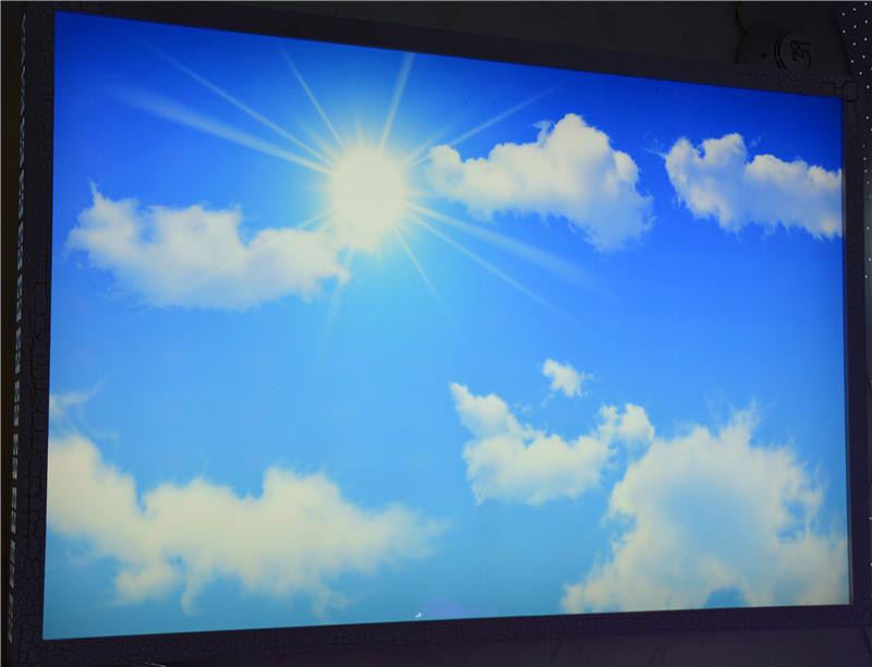 佳明灯饰 蓝天白云 LED吸顶灯 客厅灯图片三