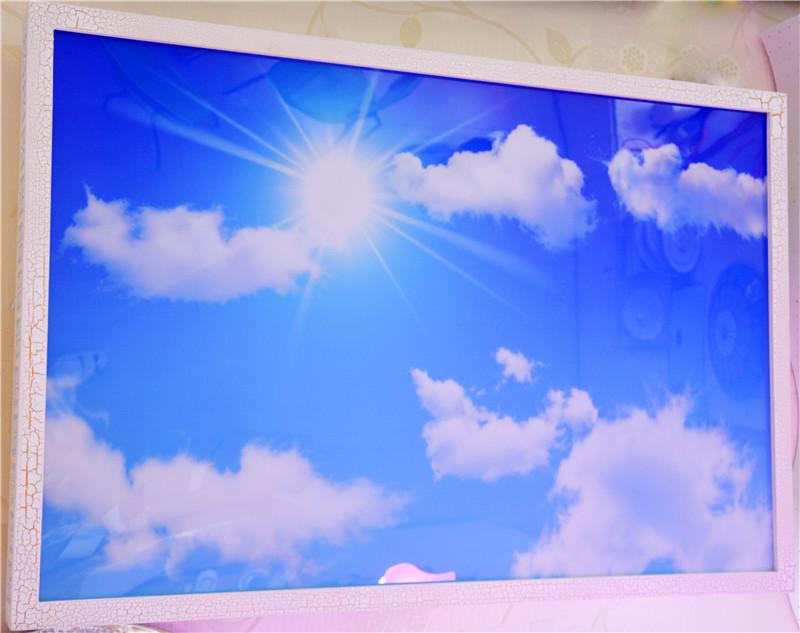 佳明灯饰 蓝天白云 LED吸顶灯 客厅灯图片四