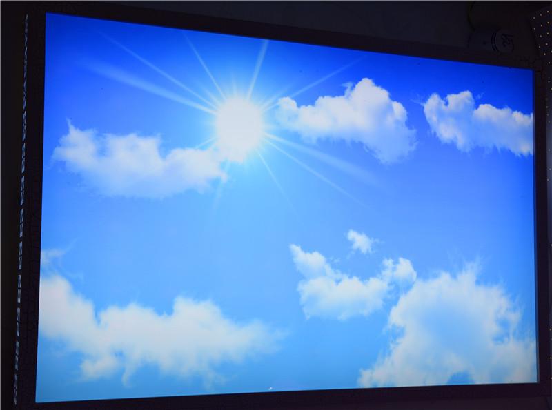 佳明灯饰 蓝天白云 LED吸顶灯 客厅灯图片五