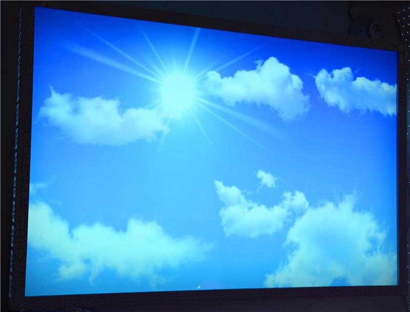 佳明灯饰 蓝天白云 LED吸顶灯 客厅灯图片六