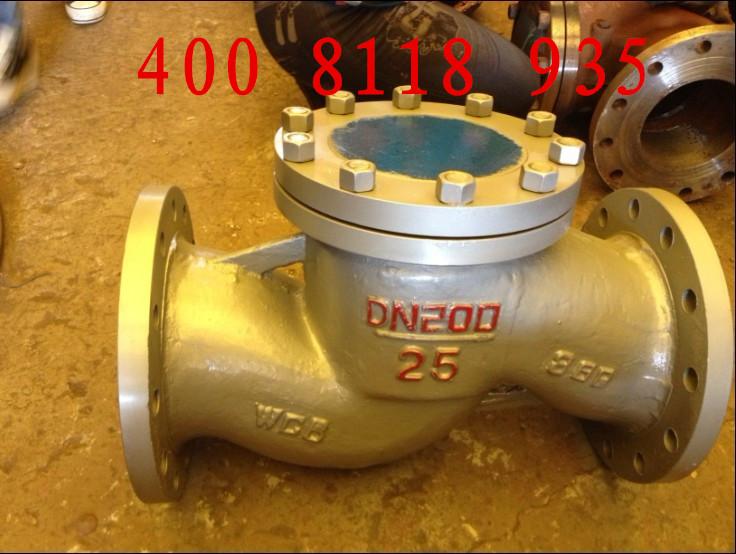 供应H41H-25C立式多功能铸钢缓闭止回阀图片五