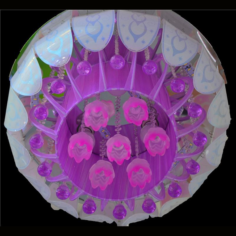 佳明灯饰 圆形 LED水晶灯客厅灯图片三