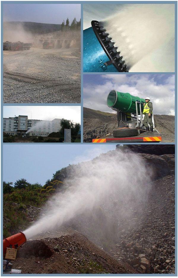 山东华力 TDM100米智能环保喷雾机图片一