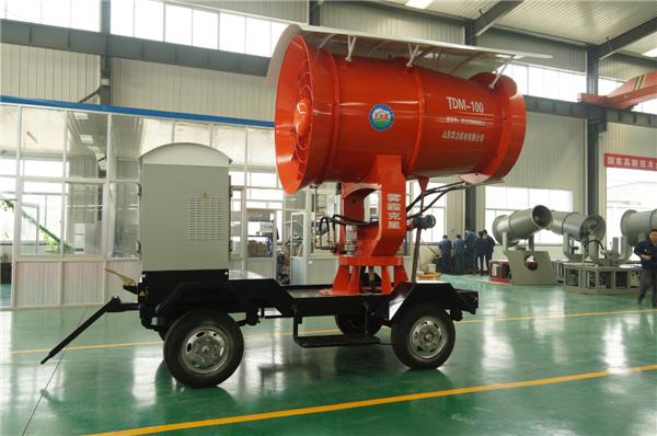 山东华力 TDM100米智能环保喷雾机图片三