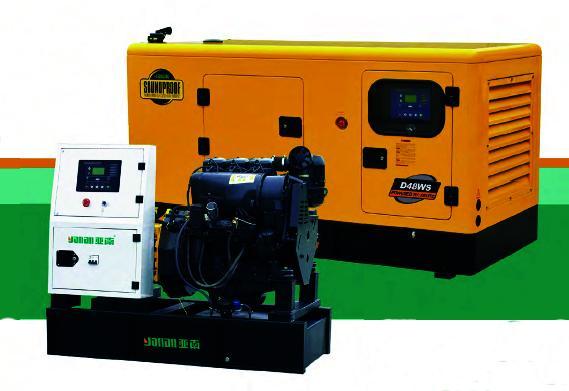 100KW亚南D系列柴油发电机组厂家直销图片二
