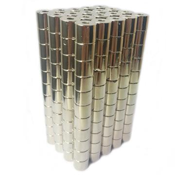 打孔磁铁 强磁铁  圆形磁铁  喇叭磁铁图片二