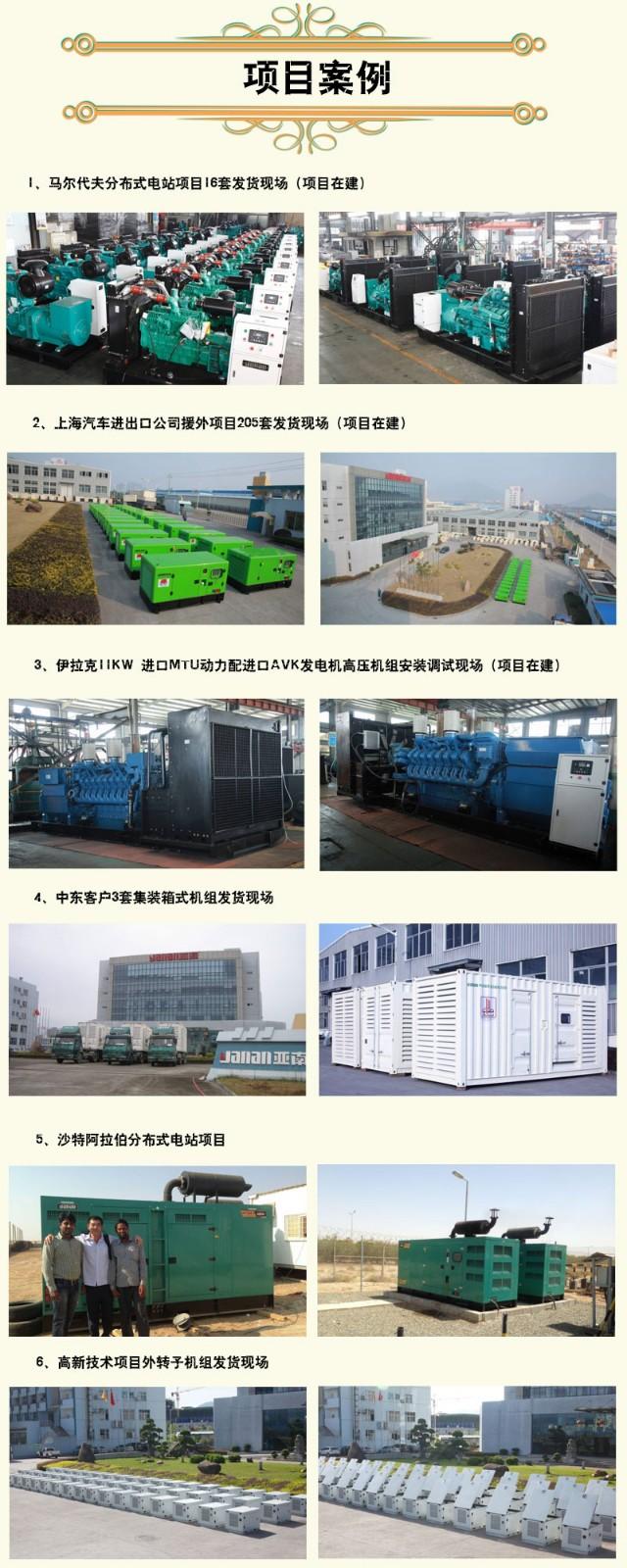 亚南G系列高压无刷同步发电机1000KW图片四