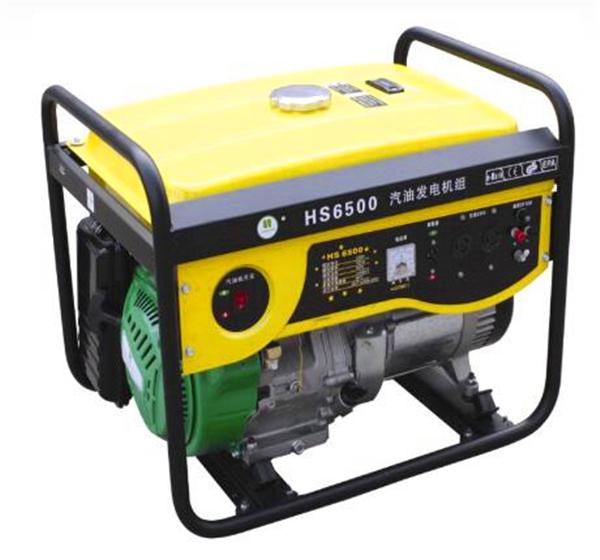 华盛中天 HS6500汽油发电机图片一