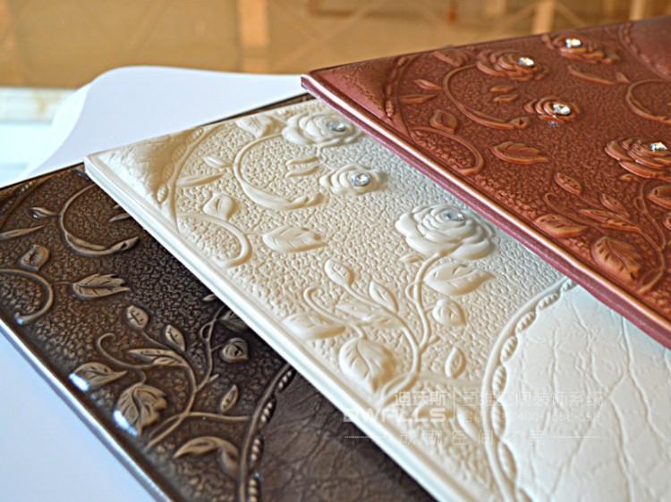 迪沃斯欧式人造革皮雕软包背景墙图片十二