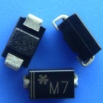原装正品专营二极管1N4007 M7 贴片M7图片二