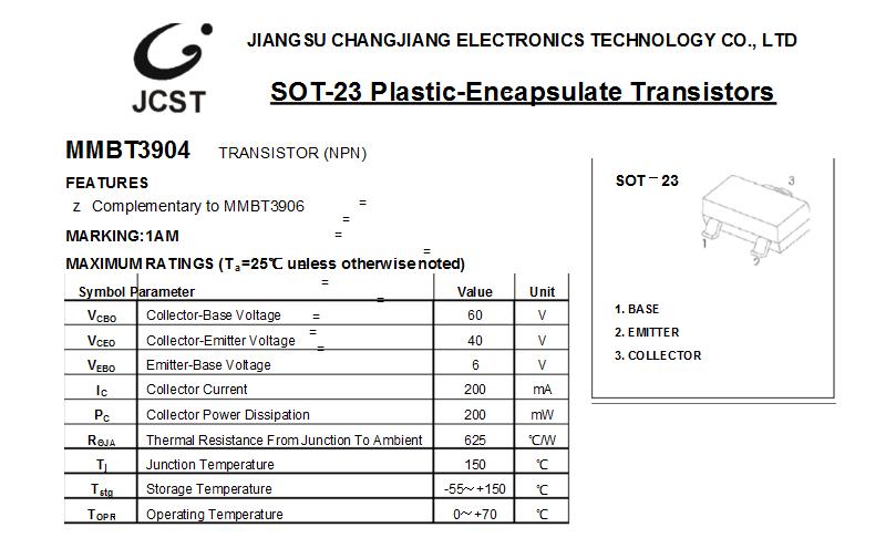 长电CJ贴片三极管 D882 晶体管图片二