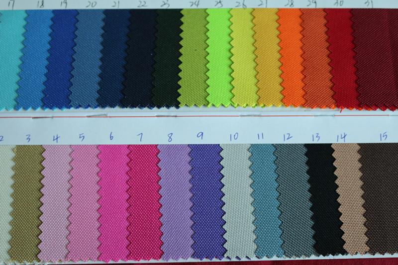 涂层布 600D牛津布 PU涂层面料 箱包面料图片六