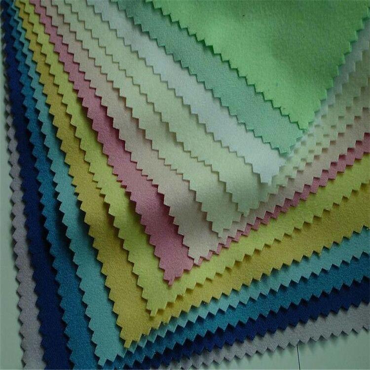 新款涤纶斜纹桃皮绒 儿童抱枕口袋面料 环保染色图片十一