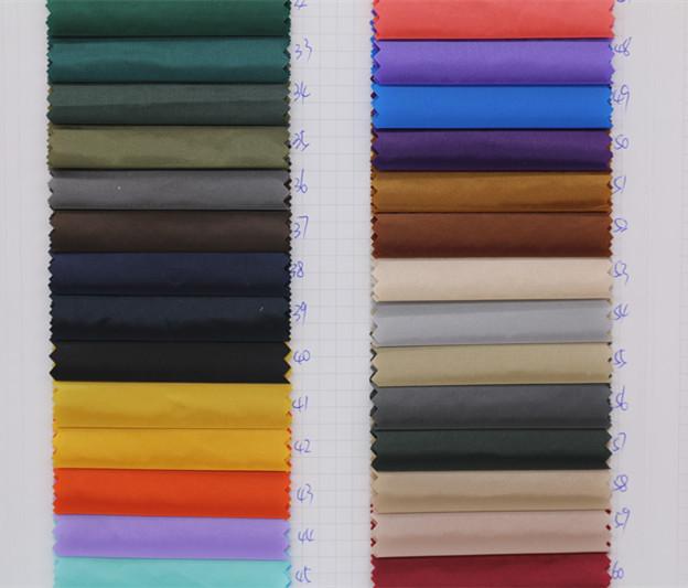 轻薄羽绒服面料布料 20D圆孔尼龙布 防绒进口现货图片四