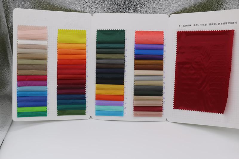 轻薄羽绒服面料布料 20D圆孔尼龙布 防绒进口现货图片七