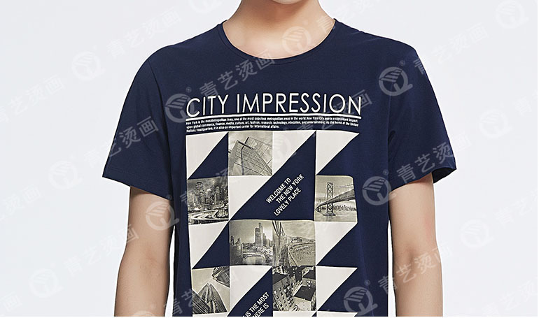 DIY个性T恤烫画图片九
