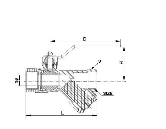 JT1410 过滤器球阀(大型)图片三