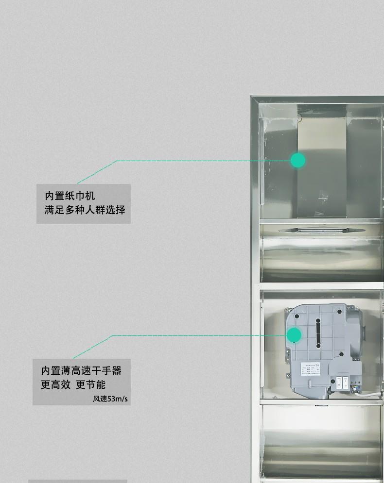 AIKE艾克三合一组合柜 多功能组合机AK9258图片七